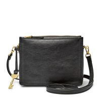 Tas Selempang Fossil Champbell Crossbody Black Authentic Original