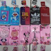 Case Jelly Ring Disney Oppo Neo A37, A39 A57, F3, Xiaomi Redmi Note 4