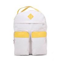 Tas Ransel Punggung Backpack Wanita Cewek Cewe Warna Krem H 6170 HN