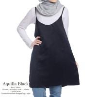 GROSIR BAJU MURAH   MIDI DRESS   DRESS MURAH   AQUILA  BLACK