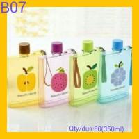 Memo Bottle - Botol Minum gambar buah 350ML B-07
