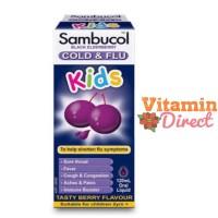 Sambucol Cold & Flu For Kids 120ml Syrup