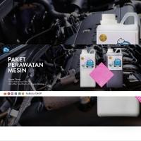 PAKET PEMBERSIH MESIN MOBIL, Semir Ban Engine Cleaner Lap Mesin dll