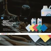 PAKET PEMBERSIH INTERIOR MOBIL, Cleaner, Semir Ban, Lap Microfiber dll