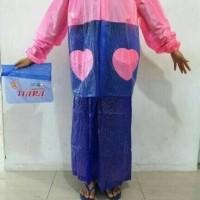 harga Jas Hujan Wanita Jaket Rok Polkadot Tiara ( Model Rok Muslimah ) Tokopedia.com