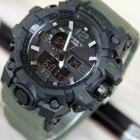Jam Tangan G-Shock GWG1000 Green Army Black