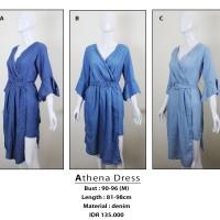 harga Athena Dress / Pakaian Wanita Fashion Bangkok Tokopedia.com