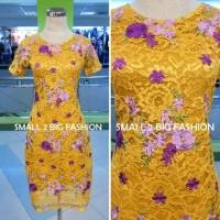 Dress brukat / kebaya brokat / dress natal / dress import/ kebaya dres