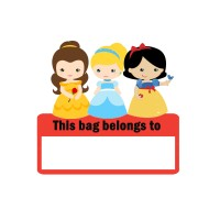 Tas / Pouch / Ransel / Tote Bag  Belacu / Blacu - Princess Superhero