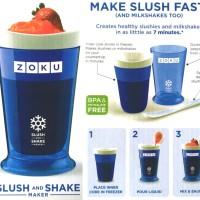 Jual Gelas Smoothies dan Milkshake BPA Free - Zoku Ice Slush & Shake Maker Murah