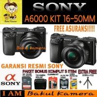 SONY ALPHA A6000 KIT 16-50MM PAKET YES / SONY A6000 / SONY ALPHA A6000