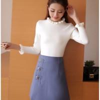 harga Baju Setelan Wanita Import Blue Suit Set (size L) 191184 Tokopedia.com