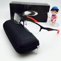 Kacamata Frame Minus Oakley Magnesium Mag + Lensa Anti Radiasi Pria