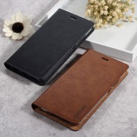ORIGINAL Leather case Samsung Note 8 3 4 flip cover wallet card armor