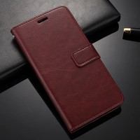 Leather Kulit FLIP COVER WALLET Oppo F3 A77/ F1S A59 Case Casing HP