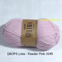 harga Drops Lima Powder Pink - Benang Rajut Wol Impor Import Wool Yarn Tokopedia.com