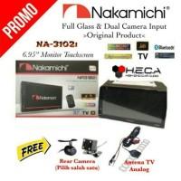 Nakamichi NA-3102i Tape TV Mobil NA3102i Double Din NA 3102 I HeadUnit