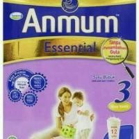 Anmum Essential 3 vanilla 340gram exp maret 2018