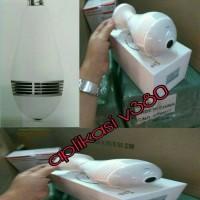 IP KAMERA CCTV BOLAM 360 PANORAMIC. CAMERA LAMPU APLIKASI V380