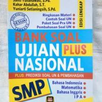 Buku Bank Soal Ujian Nasional SMP Plus Prediksi Soal UN Dan Pembahasan