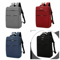 TAS BATAM BRANDED Ransel Laptop 2 resleting V-5804#