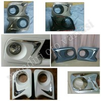 garnish/lis/cover/ring foglamp all new avanza type G 2012