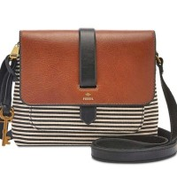 Ready tas Fossil crossbody stripe original