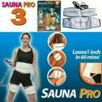 Sabuk pelangsing Set Sauna Pro 3