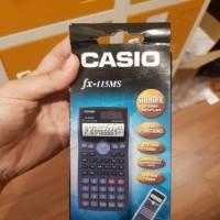 kalkulator scientific kalkulator casio fx 115ms fx115ms fx 115 ms