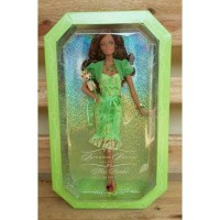 Jual BARBIE  BIRTHSTONE BEAUTIES PERIDOT MATTEL Murah