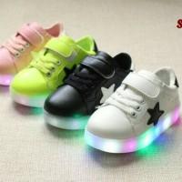 Jual Sepatu anak LED(FULL LED)cs Murah