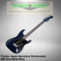 Fender Japan Aerodyne Stratocaster RW Gun Metal Blue Baru