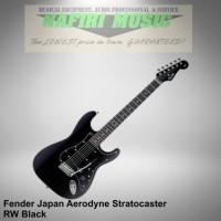 Fender Japan Aerodyne Stratocaster RW Black 100% Original