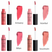 (PART 1) SALE! NYX Soft Matte Lip Cream SMLC Antwerp Istanbul Stockhol