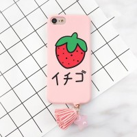 New Iphone 6 plus 6+ Pink Pastel Japan Cute Banana Hard Case Casing HP