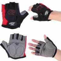 Jual Sarung Tangan Sepeda Setengah Jari/Cycling Gloves Half Finger with Gel Murah