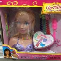 Jual Make Up Doll Princess / Boneka Wajah Barbie Merias Make Up /Dream Girl Murah