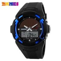 Jam Tangan Pria SKMEI Solar Power Sport LED Watch Resis Limited