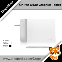 XP-PEN G430 graphic tablet for drawing and Osu! White