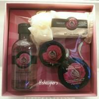 Jual British Rose Gift Set Small The Body Shop Murah