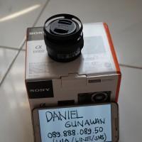 Jual Lensa Sony 16-50 PZ (Power Zoom) SELP1650 copotan sony alpha a6000 Murah
