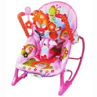 Ibaby Infant To Toddler Rocker Pink – 68112