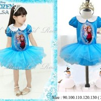 Jual LIL ROSE FROZEN DRESS TUTU (ATAS KAOS+ROK TUTU) Murah