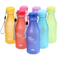 Jual Botol Minum BPA FREE GLOSS Anti Tumpah Tempat Air Minum Unik Murah