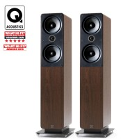 Q Acoustics 2050i Floorstanding Speaker - Walnut
