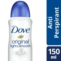 Jual Dove Spray Deodorant light & Smooth 150ml Murah
