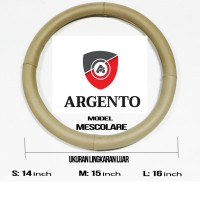 FREE KAIN LAP - Sarung Setir Argento MERCY SLR MC LAREN