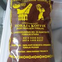 Jual Robusta kopi Toraja asli 100 % ,HARUM kopi Organik .150 gr  Murah