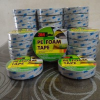DOUBLE TAPE BUSA 3M Pe Foam Tape 24mm x 4M ORIGINAL