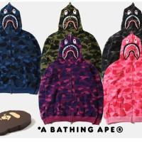 bape shark,full zip hoodie, clone mirror